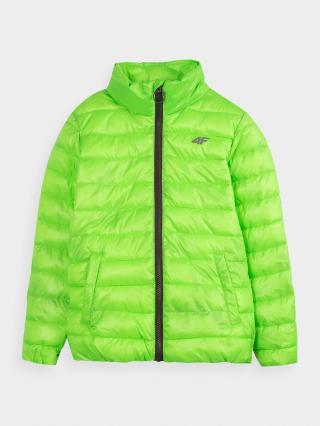 Chlapecká péřová bunda  zelený 134