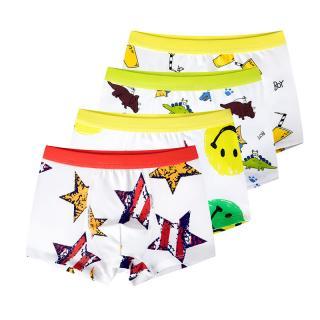 Chlapecké boxerky s barevnými potisky - 4 kusy Velikost: 4