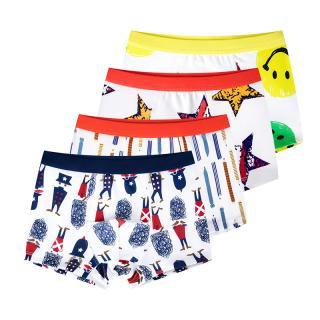 Chlapecké boxerky s různými potisky - 4 kusy Velikost: 4