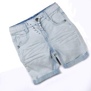 Chlapecké džínové kraťasy - Bílé Velikost: 2