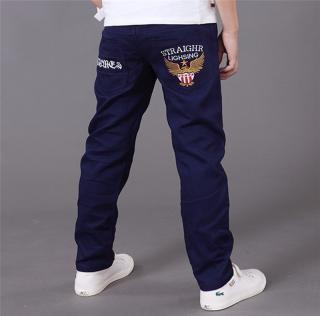 Chlapecké džíny - 3 barvy Barva: modrá, Velikost: 4