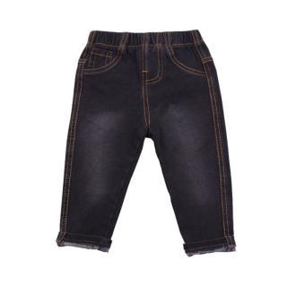 Chlapecké džíny - 4 barvy Barva: černá, Velikost: 9-12 měsíců