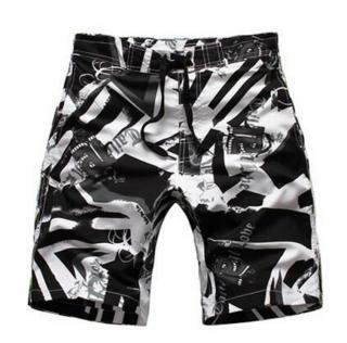 Chlapecké plážové kraťasy - 3 barvy Barva: černá, Velikost: 7