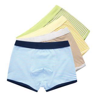 Chlapecké pruhované boxerky - 4 kusy Velikost: 4