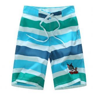 Chlapecké pruhované šortky Tom & Jerry - 2 barvy Barva: modrá, Velikost: 9