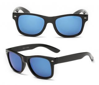Chlapecké sluneční brýle s černým pouzdrem - 4 barvy Barva: modrá