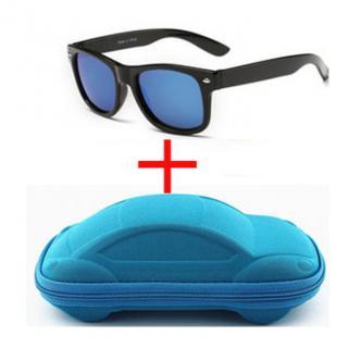 Chlapecké sluneční brýle s modrým pouzdrem - 4 barvy Barva: modrá