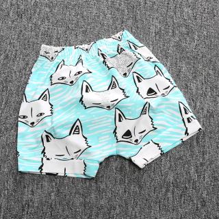 Chlapecké šortky s karikaturou lišky Velikost: 9-12 měsíců
