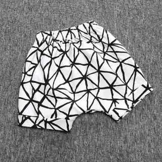 Chlapecké šortky s proužky - Černo-bílé Velikost: 12-18 měsíců
