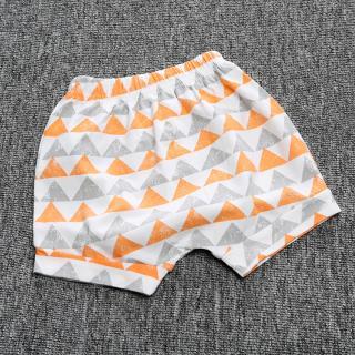 Chlapecké šortky s trojúhelníky - 2 varianty Velikost: 9-12 měsíců, Varianta: A