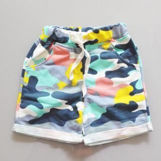 Chlapecké šortky ve vojenském stylu - 5 barev Barva: žlutá, Velikost: 2