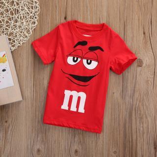 Chlapecké tričko M&Ms - Červené Velikost: 3
