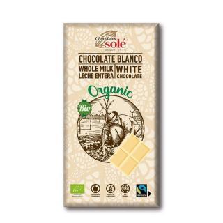 Chocolates Solé - Bílá bio čokoláda