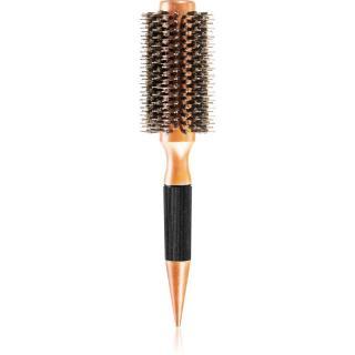 Chromwell Brushes Dark Wood kulatý kartáč na vlasy dámské