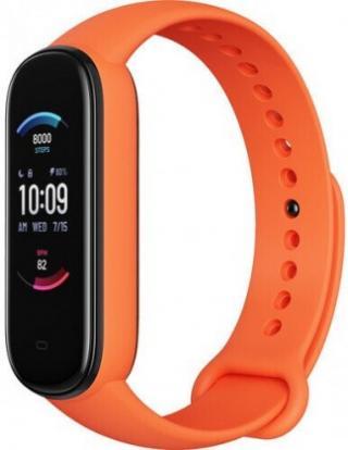 Chytrý náramek amazfit band 5, oranžová