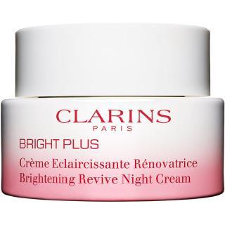 Clarins Bright Plus Brightening Revive Night Cream energizující noční krém pro sjednocení barevného tónu pleti 50 ml dámské 50 ml