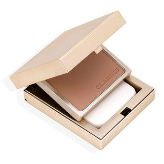 Clarins Everlasting Compact Foundation 112 Amber pudrový make-up 10 g