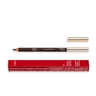 Clarins Eyebrow Pencil 01 Dark Brown tužka na obočí 2v1 1,3 g