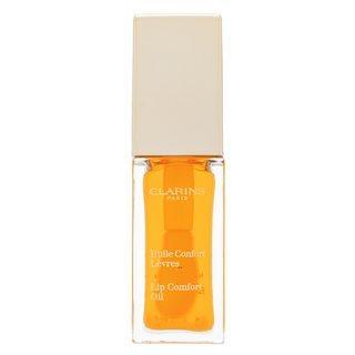 Clarins Instant Light Lip Comfort Oil 01 Honey výživný balzám na rty 7 ml