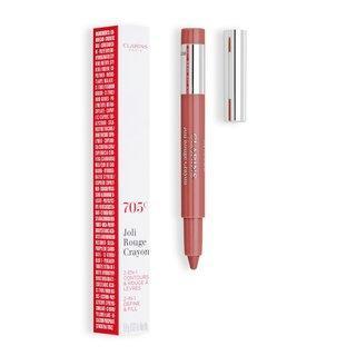 Clarins Joli Rouge Crayon 705C Soft Berry konturovací tužka na rty 2v1 0,6 g