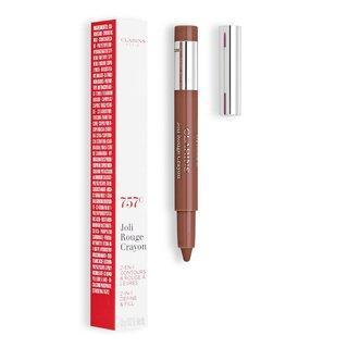 Clarins Joli Rouge Crayon 757 Nude Brick konturovací tužka na rty 2v1 0,6 g