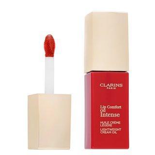 Clarins Lip Comfort Oil Intense 07 Intense Red lesk na rty s hydratačním účinkem 7 ml