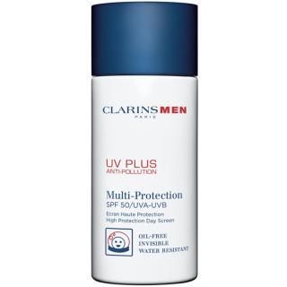 Clarins Men UV Plus ochranný pleťový krém s UVA a UVB filtry SPF 50 50 ml pánské 50 ml