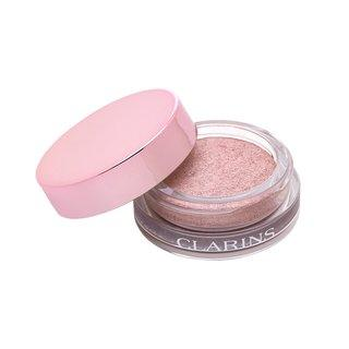 Clarins Ombre Iridescent Cream-to-Powder Eye Shadow 09 Silver Rose oční stíny 7 g