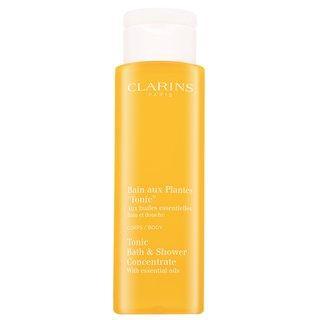 Clarins Tonic Bath & Shower Concentrate relaxační koupelový a sprchový gel s esenciálními oleji 200 ml