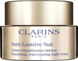 Clarins Vyživující revitalizační noční krém Nutri-Lumiére  50 ml dámské