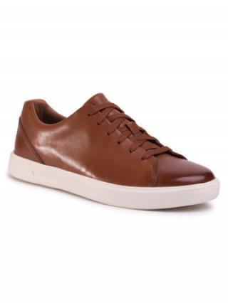 Clarks Sneakersy Un Costa Lace 261486907 Hnědá pánské 42