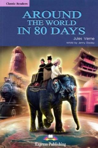 Classic Readers 2 Around the World in 80 Days - SB s aktivitami   audio CD - Jules Verne