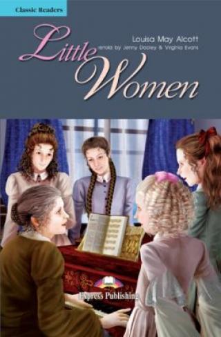 Classic Readers 4 Little Women - SB s aktivitami   audio CD - Louisa May Alcottová