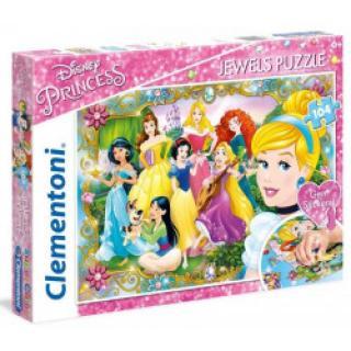 Clementoni 20147 - Puzzle Supercolor 104 Princezny