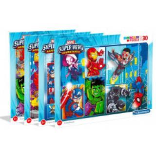 Clementoni 22703 - Puzzle 30 Superhero