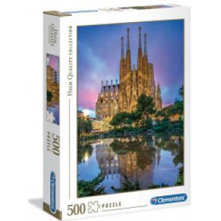 Clementoni 35062 - Puzzle 500 Barcelona