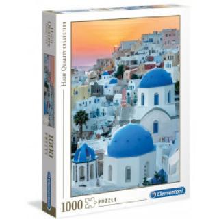 Clementoni 39480 - Puzzle 1000 Santorini