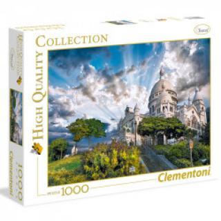 Clementoni - Puzzle 1000, Montmartre