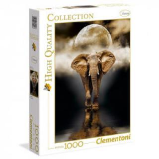 Clementoni - Puzzle 1000, Slon