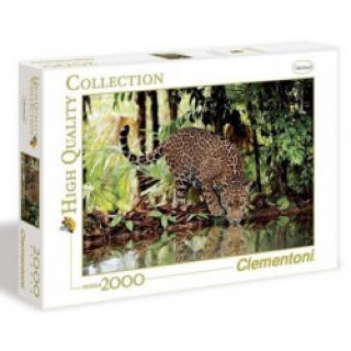Clementoni - Puzzle 2000, Leopard
