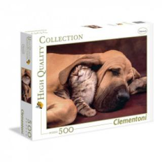Clementoni - Puzzle 500, Cuddles