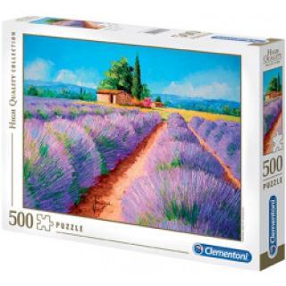Clementoni - Puzzle Levandule 500 dílků