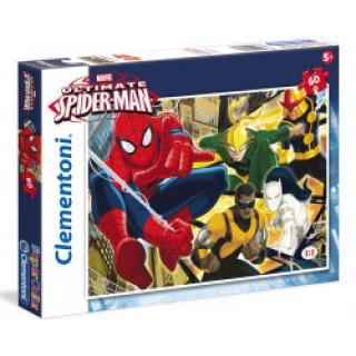 Clementoni - Puzzle Maxi 60, Spiderman Born hero