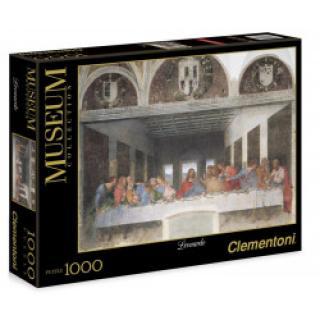 Clementoni - Puzzle Museum 1000, Leonardo de Vinci - Poslední večeře