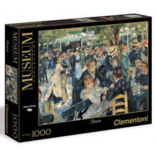 Clementoni - Puzzle Museum 1000, Renoir - Bal du Moulin de la Galette