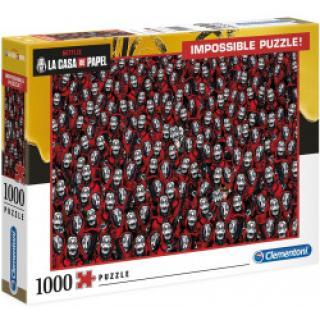 Clementoni - Puzzle Papírový dům Netflix 1000 dílků