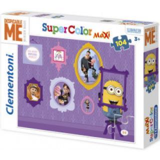 Clementoni - Puzzle Supercolor MAXI 104 dílků - Já Padouch