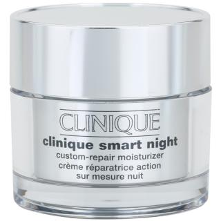 Clinique Clinique Smart hydratační noční krém proti vráskám pro smíšenou až mastnou pleť 50 ml dámské 50 ml