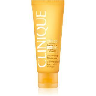 Clinique Sun opalovací krém na obličej s protivráskovým účinkem SPF 30 50 ml dámské 50 ml