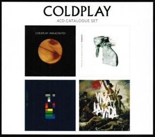 Coldplay 4CD Catalogue Set